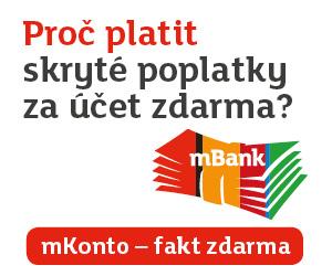 Hledáte nejvhodnější spořící účet pro děti? mBank nabízí bankovní účet pro děti bez poplatků