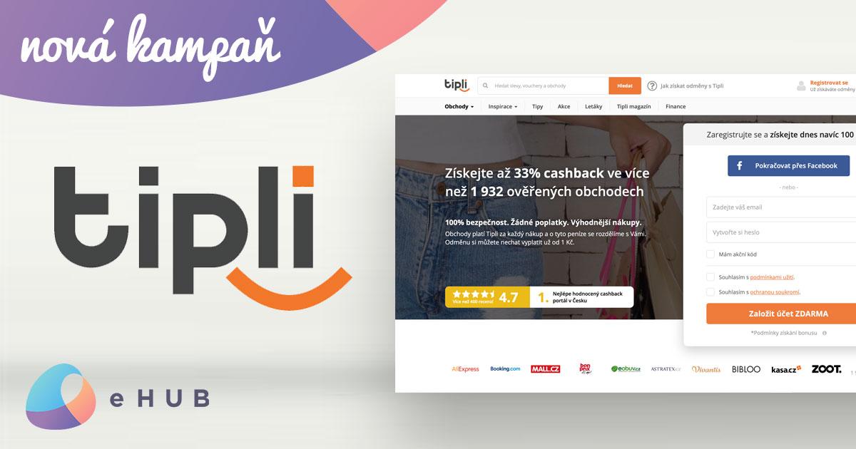 Affiliate kampaň Tipli