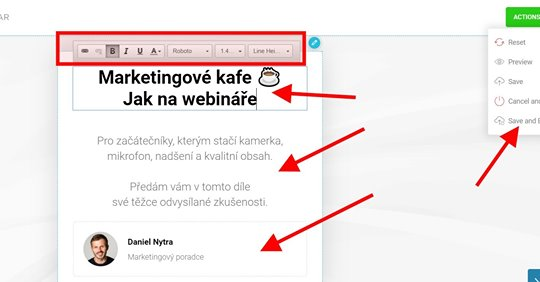 Jak na webináře