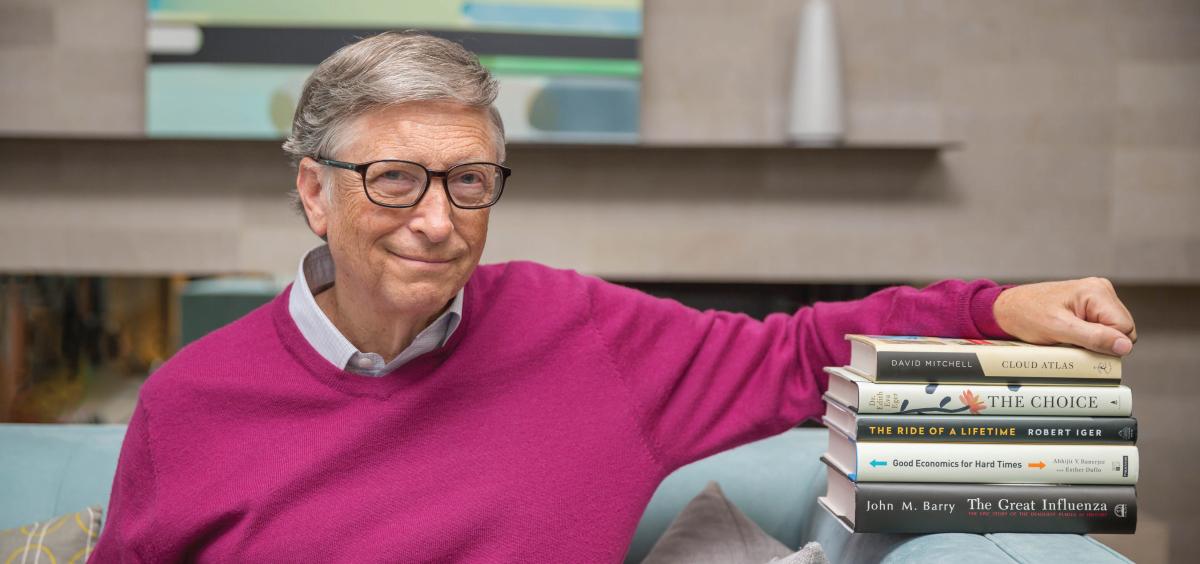 Knižní tipy od Billa Gatese